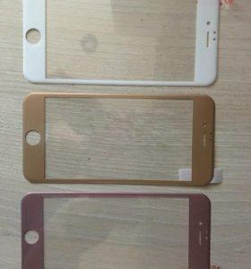 Защитное бронь-стекло для iPhone 6,6s
