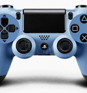 Джойстик DualShock 4 grey blue