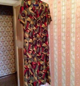 Костюм (платье+рубашка)