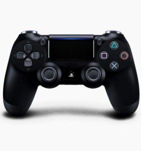 Джойстик DualShock 4 черный v.2