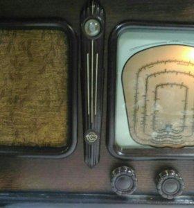 Ламповый ретро радио приемник