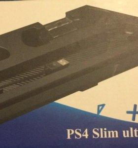 PS 4 SLIM вертикальная подставка