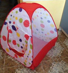 Детская палатка. Новая.