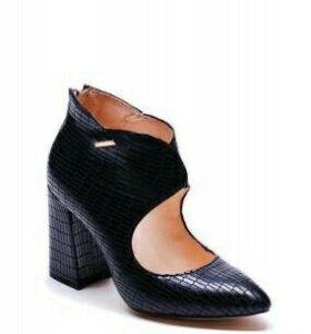 Туфли нат. кожа с теснением