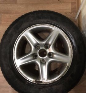 Колесо на литом диске 225х70 R16