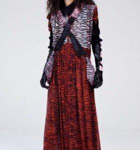 Новое платье из шёлка Kenzo, S-M