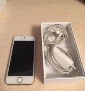 iPhone 5s gold + подарок