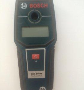 Металлодетектор Bosch GSM 100 M Professional