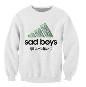 Толстовка ADIDAS+sad boys