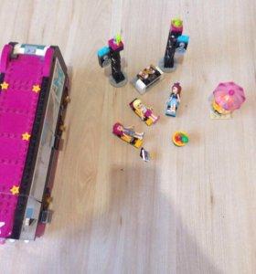 Lego friends автобус Ливи.