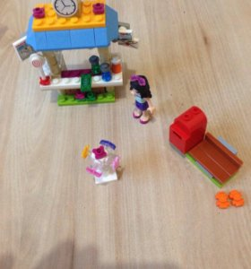 Lego friends киоск