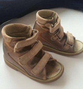 Ортопедические сандали 15см