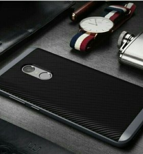 Чехлы для Xiaomi redmi note 4 Carbon
