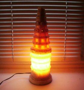 Раритетная мраморная лампа