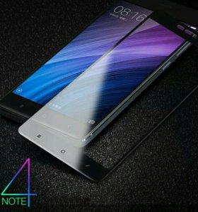 Стёкла для Xiaomi redmi note 4