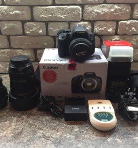 Canon 700d + Canon 24-105mm 4f + Sigma 28 mm 1,8f