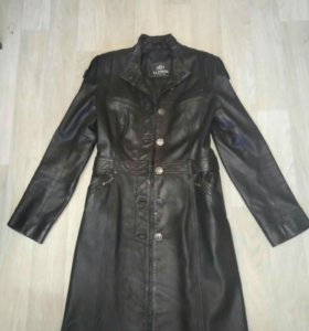 Пальто кожаная Италия 44-46