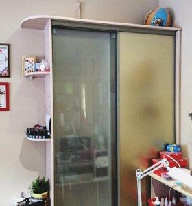 Шкаф-купе, стеллаж, встроенный шкаф