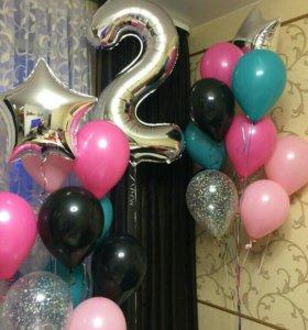 Воздушные шары на день рождение.