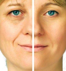 Пилинг лица+атравматичная чистка лица