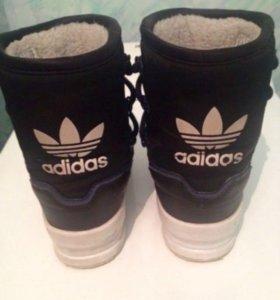 Зимние сапоги adidas original