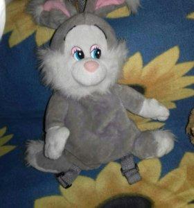 Заяц рюкзак