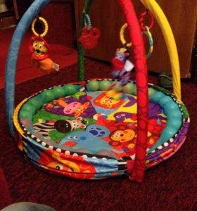 Коврик развивающий playgro цирк