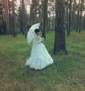Свадебное платьe