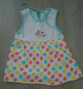 Платья для девочки 7-12 месяцев