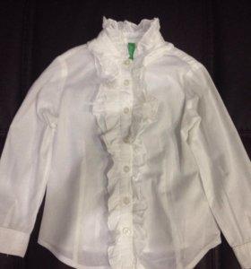 Рубашка''Benetton'' детская