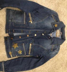 Джинсовая куртка Galliano