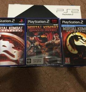 PlayStation 2 slim и PlayStation vita