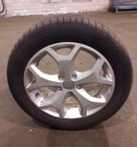 Шины на литых дисках для форд Мондео-4.