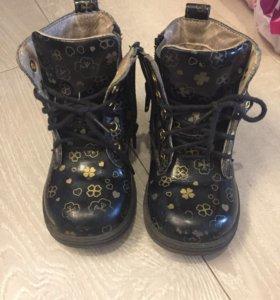 Ботинки для девочки 23 размер
