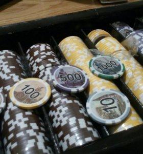 Набор фишек для покера