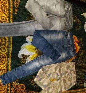 Джинсы брюки 42-40 р