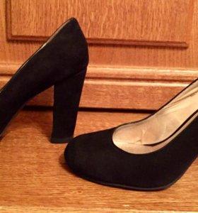 Туфли замшевые 36