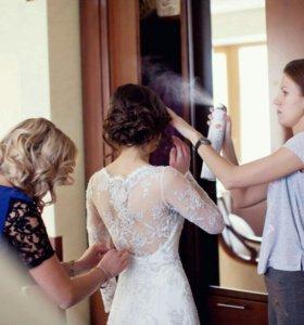 Свадебное платье (Ручной работы, сшито на заказ)