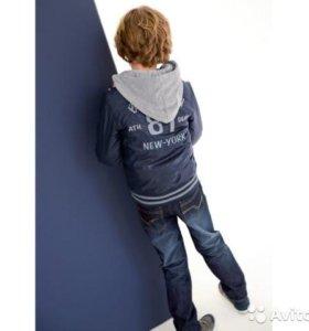 Куртка-ветровка 128/134