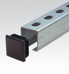 Заглушки для труб 40х40 мм пластиковые