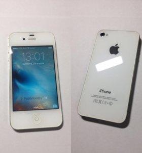 Iphone 4s white 16 гб