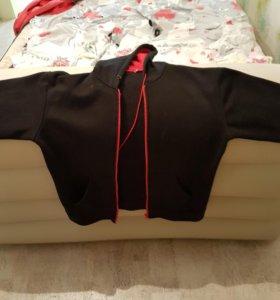 Куртка-толстовка (теплая)