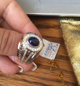 Золотое кольцо с бриллиантами,дешего