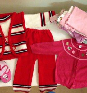 Пакет вещей для девочки 80-86