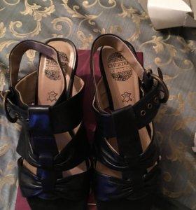 Новые кожаные туфли Chester p.37