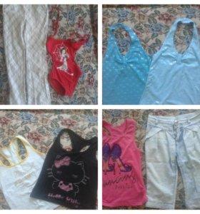 Вещи для девочки 6-10лет
