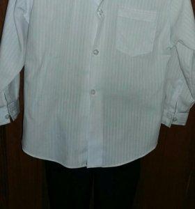 Костюм двойка (рубашка,брюки и бабочка)
