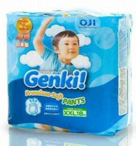 Genki трусики японские ххл 13-25кг 18шт