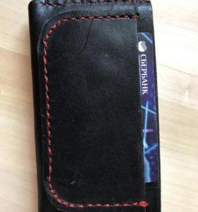 Чехол для iPhone из кожи