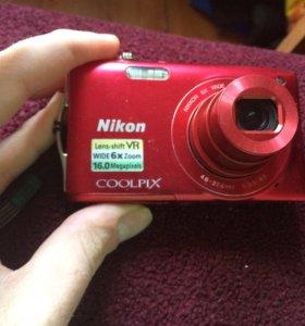 Фотоаппарат Nikon coolpix 16mpix